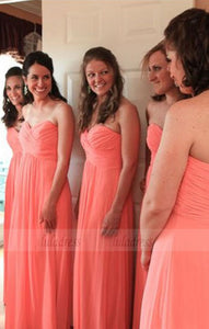 Simple Bridesmaid Dress,Cheap Evening Dresses,Fall Wedding Gowns,BD98453