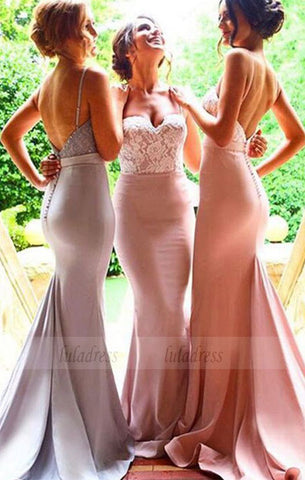 sweep train dresses for brides maid , long dresses for wedding party,BD98280