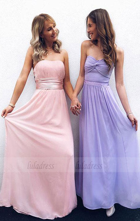 Cute A Line Chiffon Long Prom Dress,Homecoming Dress,BD98071