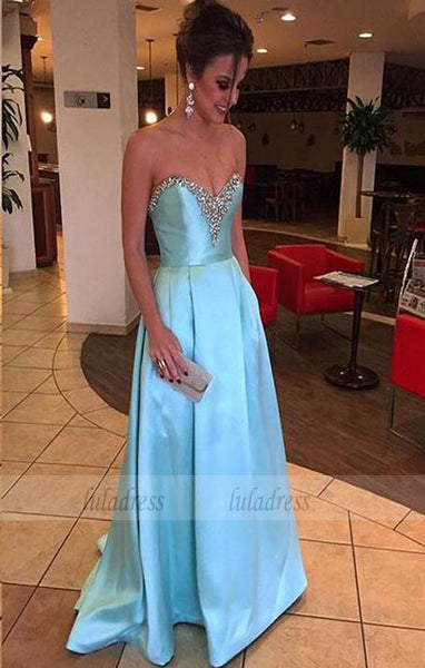 Elegant Evening Gowns,Modest Prom Gowns,Beaded Bodice Evening Gown,BD99383