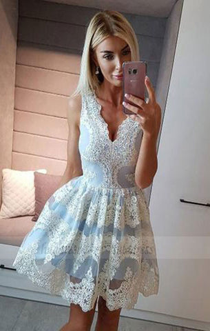 Lace Homecoming Dresses,Short Prom Dresses,Cocktail Dress,Graduation Dress