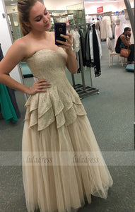Sweetheart Prom Dress,Tulle Prom Dress,Lace Prom Dress, A-Line Prom Dress,BD99481