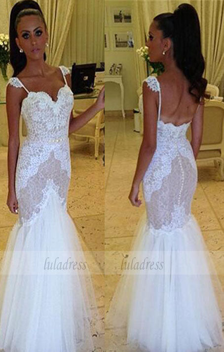 Lace Wedding Gowns,Ball Gown Bridal Dress,Fitted Wedding Dress,BD99321