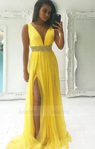 Long  Prom Dress,Simple  Evening Dresses,BD98067