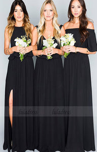 Long Bridesmaid Dress, Sleeveless Bridesmaid Dress, Tulle Bridesmaid Dress, Dress for Wedding,BD98915
