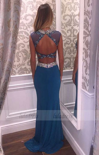 Beading Prom Dress,2 Pieces Prom Gowns,Elegant Evening Dress,BD99385