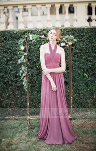 Long bridesmaid dress,chiffon bridesmaid dress,sleeveless bridesmaid dress,BD99530