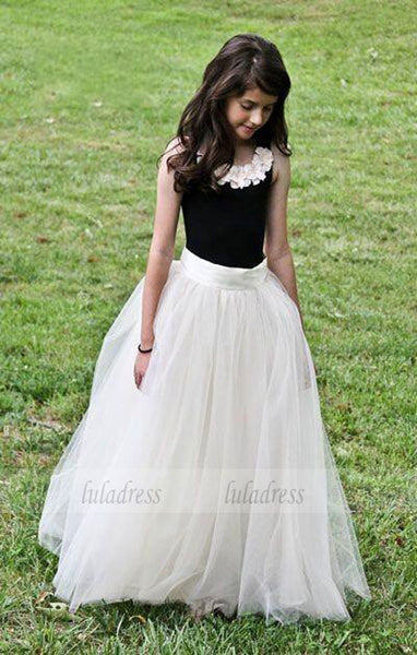 Long Princess Gown Girl Birthday Wedding Party Formal Flower Girls Dress baby Pageant dresses,BD99405