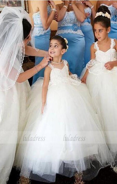 Lace Tulle Baby Girl Birthday Wedding Party Formal Flower Girls Dress baby Pageant dresses,BD99406