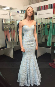 Backless Evening Dress,Sexy Evening Dresses,Mermaid Lace Prom Dress,Long Prom Dress,Formal Dress,BD99780