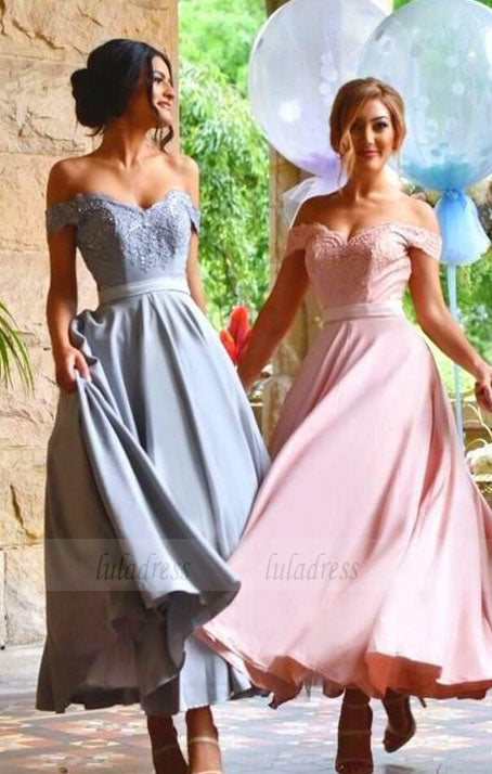Off Shoulder Sexy Bridesmaid Dress,Beautiful Custom bridesmaid dress, Wedding Party Dresses,BD98612