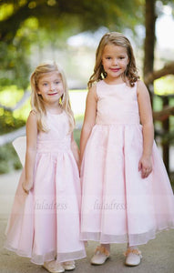 Pretty Pink Flower Girls Dresses for Wedding Party,BD99751