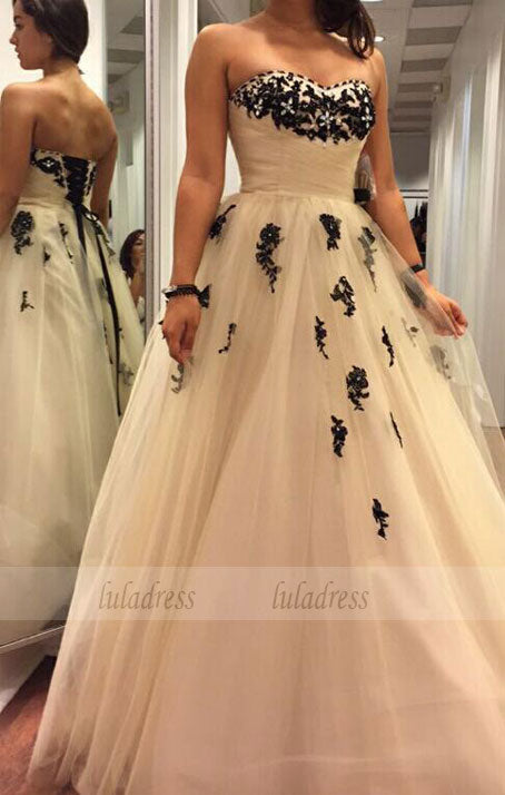 Tulle Prom Dresses,Princess Prom Dress,Ball Gown Prom Gown,BD99315
