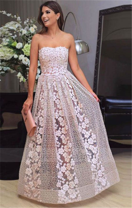 fashion prom dresses, long prom dresses, lace prom dresses,BD98713