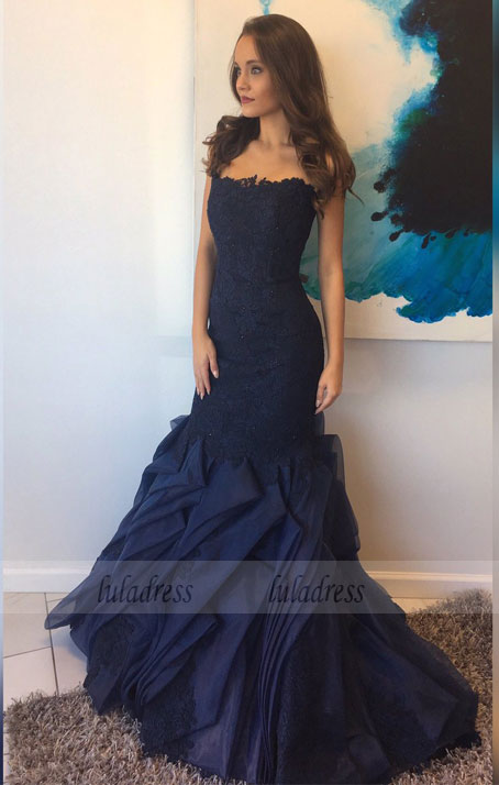 Formal Gown,Lace Evening Gowns,Lace Party Dress,Prom Gown For Teens,BD99449