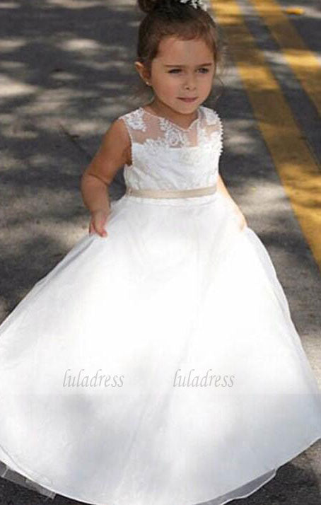 Formal Long Flower Girl Dresses Children Birthday Dress Kids Wedding Party Dresses,BD99272