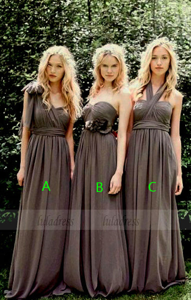 A-Line Bridesmaid Dress,Chiffon Bridesmaid Dress,BD98990