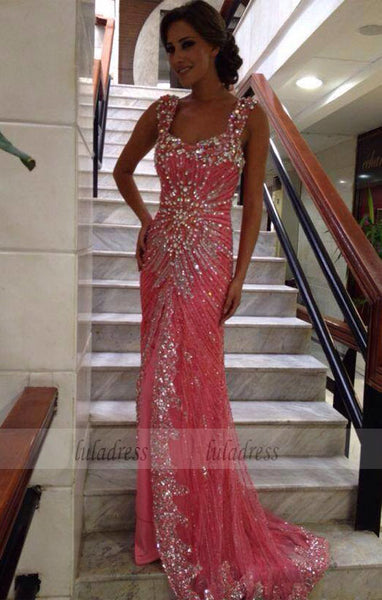 Prom Dresses,Stunning Straps Long Evening Dresses,BD99459
