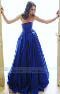 elegant strapless prom party dresses, fashion ball gowns,BD98643