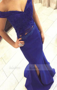 Off the Shoulder Evening Gowns,Chiffon Formal Gown For Senior Teens,BD99310