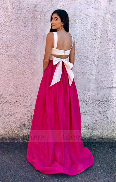Sweetheart Two Piece Prom Dress,A Line Formal Gown,BD99772
