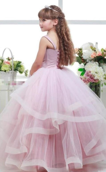 Flower Girl Dresses princess flower girl dress, lovely girl dress,BD98872