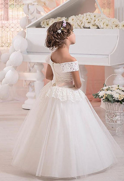 Girl Communion Party Prom Princess Pageant Bridesmaid Wedding Flower Girl Dress,BW97460