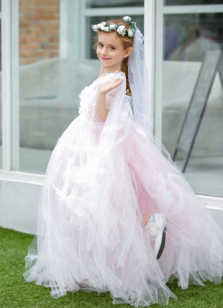 girls communion dress,girls wedding party dress,Flower Girl Dresses,BD98844