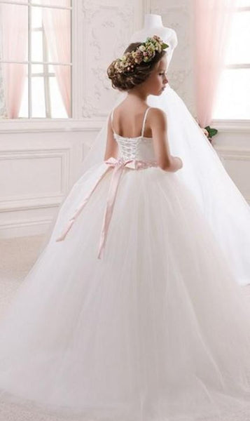 Flower Girl Dress Kid Party Pageant Princess Formal Wedding Bridesmaid,BD98853