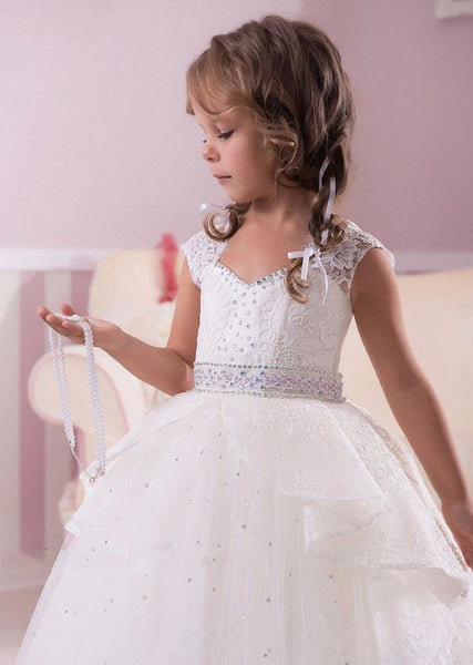 Flower Girl Dresses, Girls Wedding Party Dresses, Girls First Communion Dresses,Girls Pageant Dresses,BD98786