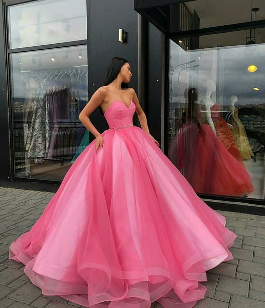 Yellow Gold Organza Ball Gowns Prom Dresses V-neck Corset Quinceanera Dresses,BD98061