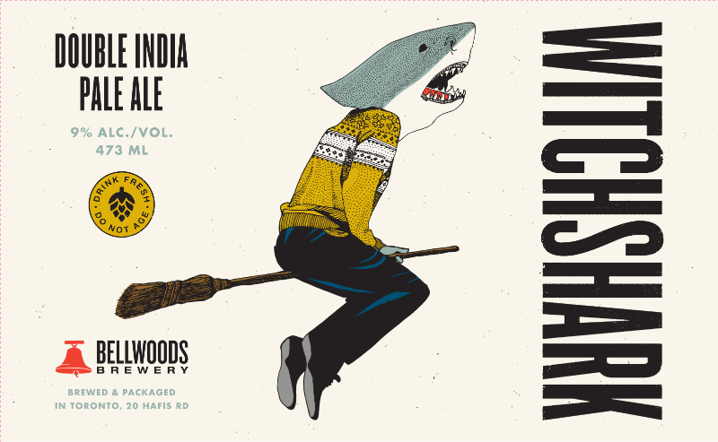WITCHSHARK Double India Pale Ale ABV: 9%