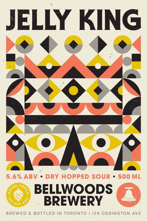 JELLY KING Dry Hopped Sour ABV: 5.6%