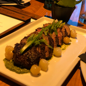 6oz Roasted Petite Tenderloin with Pesto