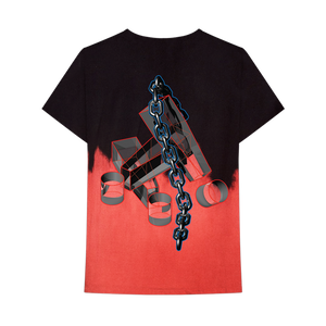 3D ! CHAINS DIP DYE T-SHIRT + DIGITAL ALBUM