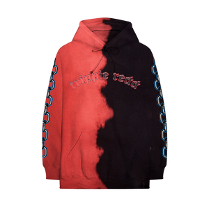 3D ! CHAINS SPLIT DYE HOODIE + DIGITAL ALBUM