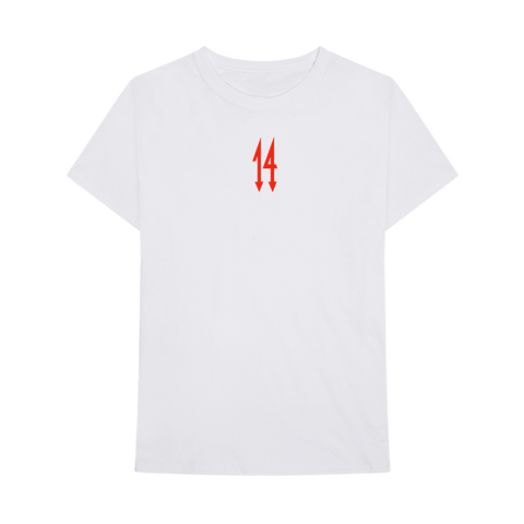 ALLTY3 WHITE T-SHIRT + DIGITAL ALBUM