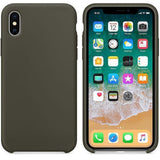 Accessories - Original Silicone Case For IPhone X, 8, 7, 6s, 6, 5s, 5se, 5
