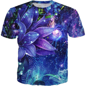 Cosmic Nature T-Shirt-T-Shirts-Wireless Jack