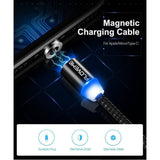 Electronics - 1M Magnetic USB Cable For Smartphones
