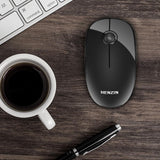 Electronics - 2.4G Super Slim Wireless Mouse With USB Receiver Silent Button Portable Computer Optical Mice For Notebook PC Laptop