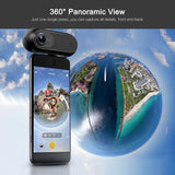 Electronics - 4K 360 Panoramic Camera VR Video Sport Action Camera 24MP Bullet Time 6-Axis Gyroscope