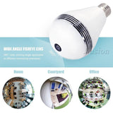 Electronics - IP WIFI Mini Camera 360 Light Bulb IR Night Vision Live Security Surveillance Cam CCTV Secret 1.3MP Smart For IPhone Android