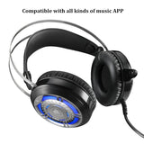 Headphone/Headset - New Cool Wired Gaming Headset Deep Bass Game Earphone Computer Headphones With Microphone LED Light Headphones For Computer PC