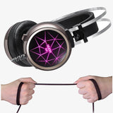 Headphone/Headset - New Super LED Backlight Gaming Headphones Deep Bass Comfortable Computer Game Headset With 3.5mm Earphone Microphones