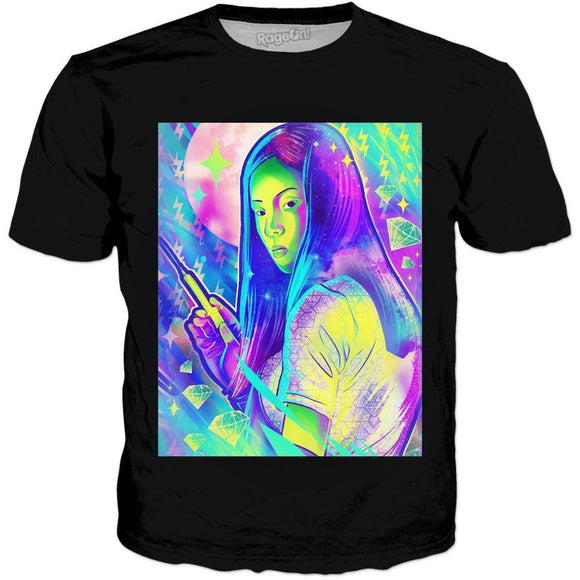 Neon Horror Audition-DB T-Shirts-Wireless Jack