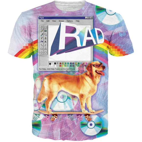 Rad T-Shirt-T-Shirts-Wireless Jack