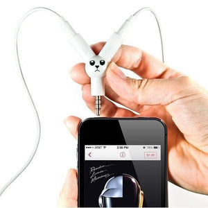 Tech Accessories - Jack Rabbit Headphone Splitter