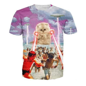 The Kitten No One Loved T-Shirt-T-Shirts-Wireless Jack