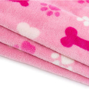 Allisandro Dog Blanket Soothing Sky Tones Designed Pink - ALLISANDROPET